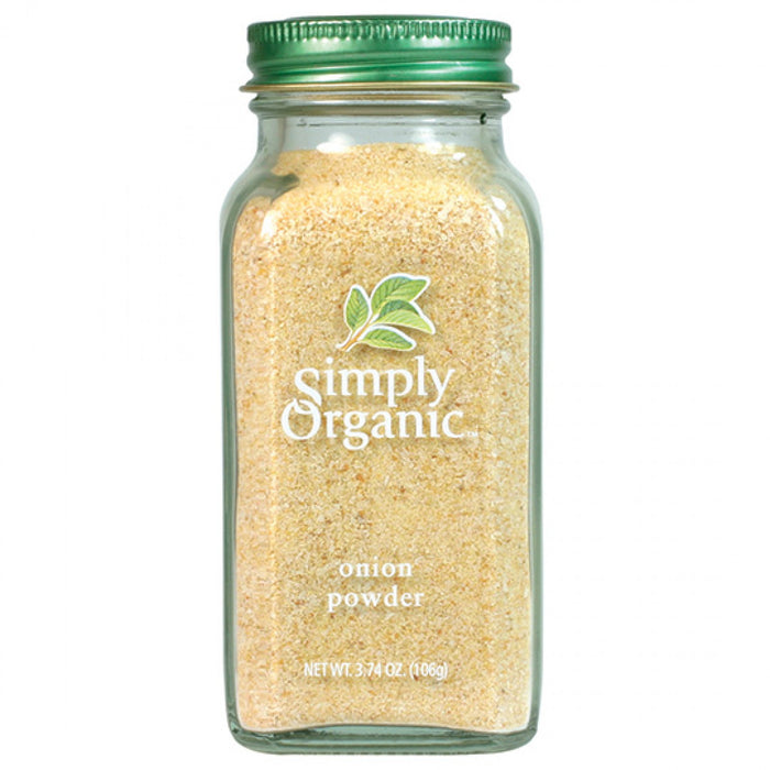 Simply Organic Onion Powder 85g Herbs Spices and Salt