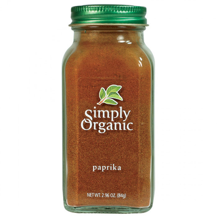 Simply Organic Paprika Ground 84g Herbs Spices and Salt