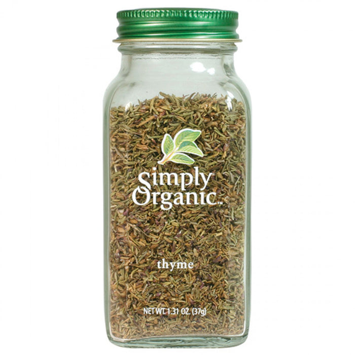 Simply Organic Thyme 22g Herbs Spices and Salt