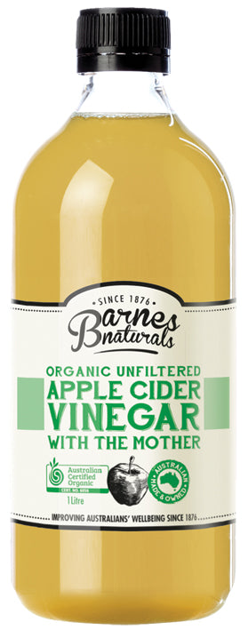 Barnes Organic Apple Cider Vinegar 1L Oils & Vinegars