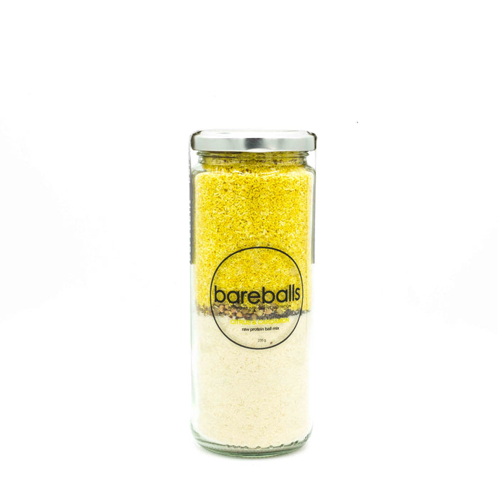 Bareballs Citrus & Turmeric 295g Make at Home Mixes