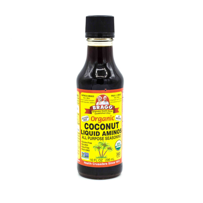 BRAGG ORGANIC COCONUT LIQUID AMINOS 296ML Sauces & Condiments
