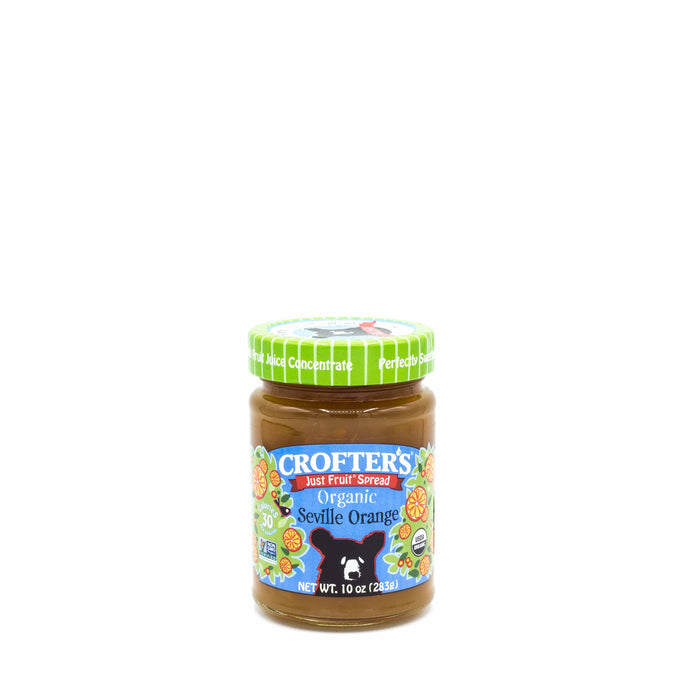 CROFTER'S JUST FRUIT SPREAD ORGANIC Seville Orange 283g Spreads Honey and Tahini