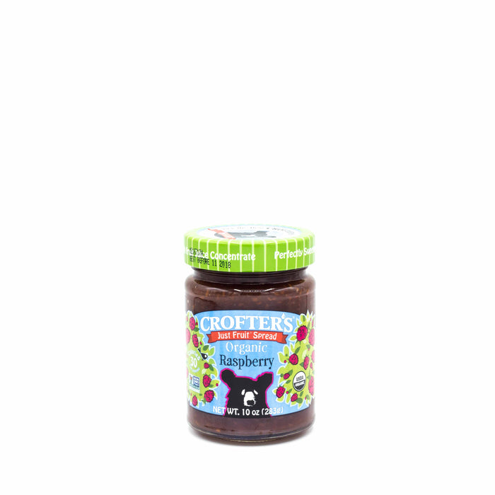 CROFTER'S JUST FRUIT SPREAD ORGANIC Raspberry 283g Spreads Honey and Tahini