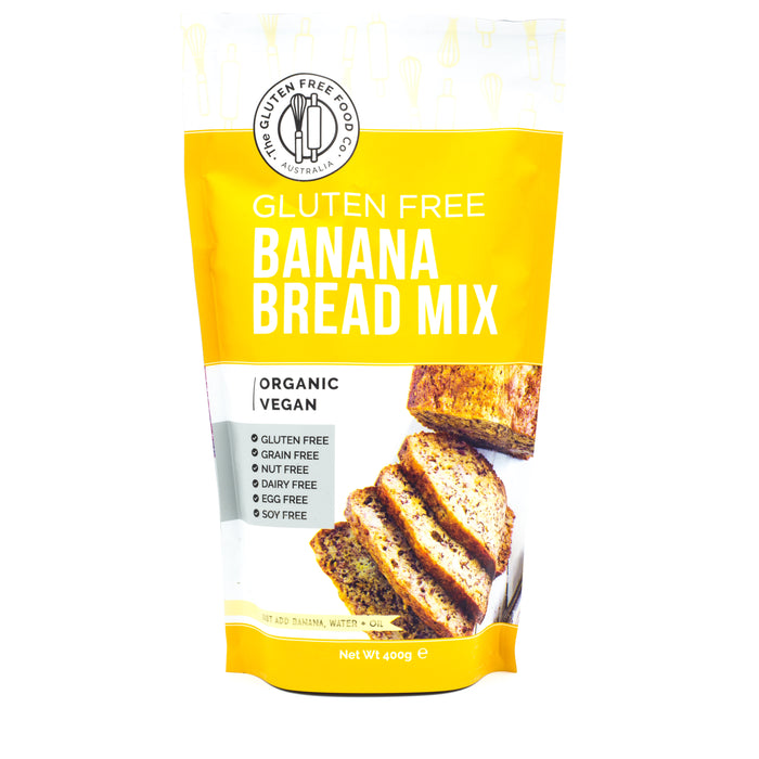The Gluten Free Food Co Banana Bread Mix 400g Make at Home Mixes