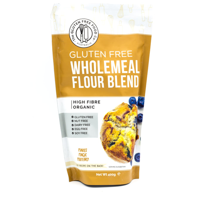 The Gluten Free Food Co Wholemeal Flour Blend 400g Make at Home Mixes