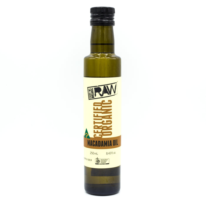 Every Bit Organic Raw Macadamia Oil 250ml Oils & Vinegars