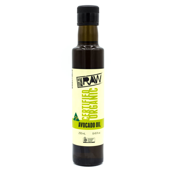 Every Bit Organic Raw Avocado Oil 250ml Oils & Vinegars