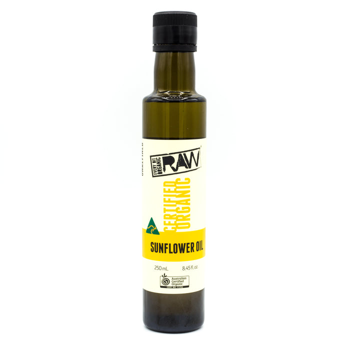 Every Bit Organic Raw Sunflower Oil 250ml Oils & Vinegars