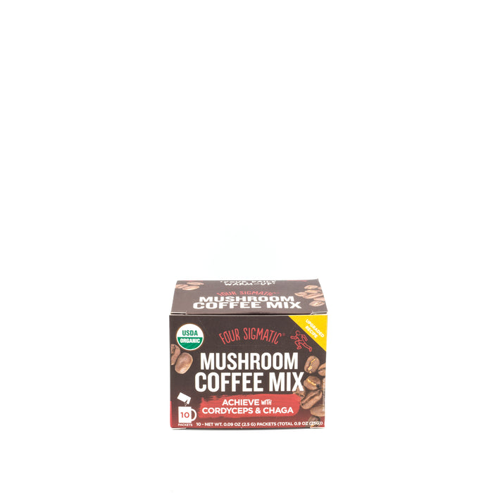 Four Sigmatic Achieve Mushroom Coffee With Cordyceps & Chaga 10x2.5g SUPPLEMENT