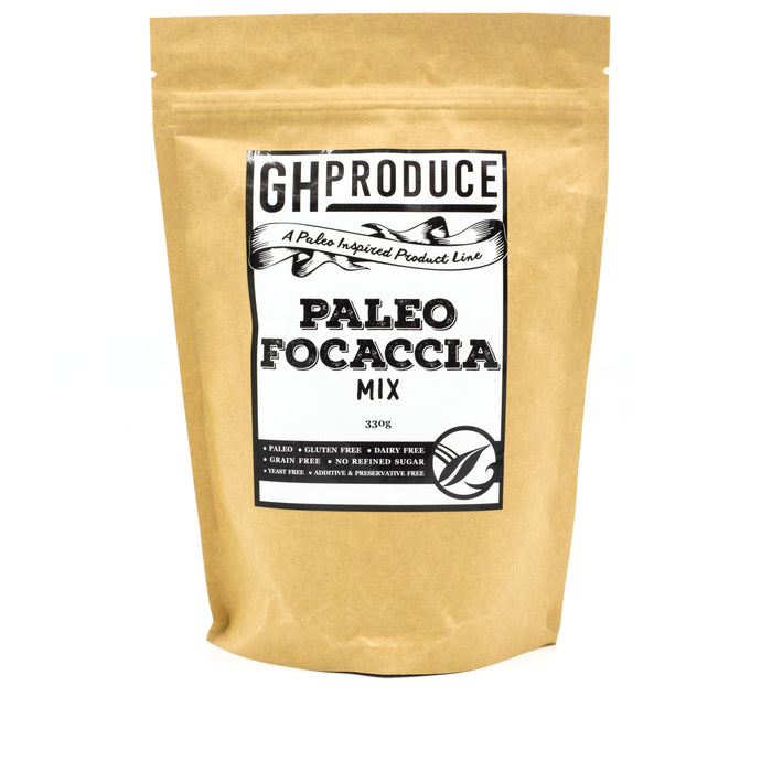 GH Produce Paleo Focaccia Mix 330g Make at Home Mixes