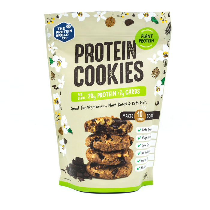 The Protein Bread Co. Plant Based Protein Cookie Mix 320g Make at Home Mixes