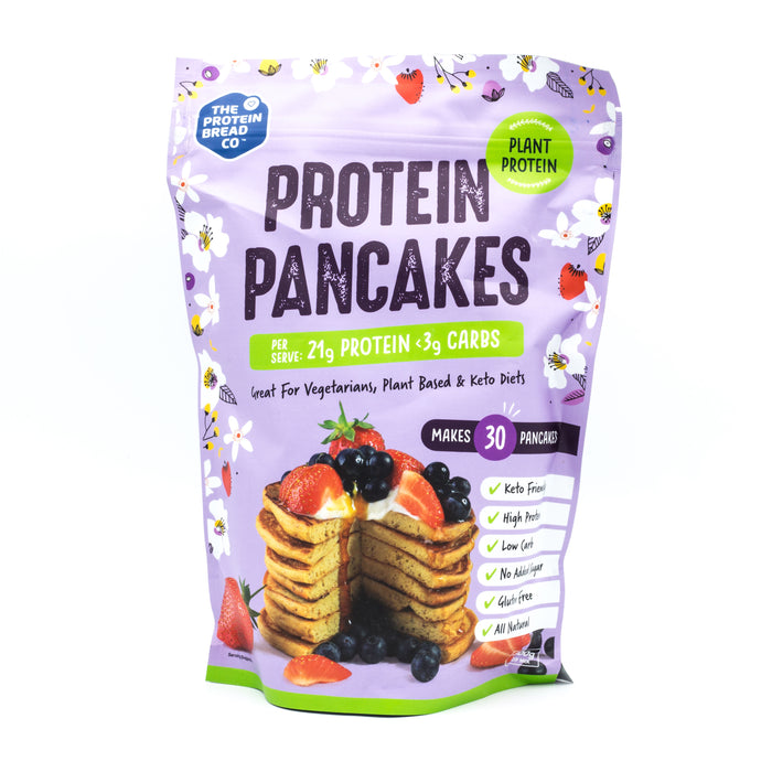 The Protein Bread Co. Plant Based Protein Pancake Mix 320g Make at Home Mixes