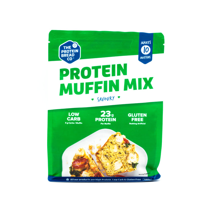The Protein Bread Co. Protein Savoury Muffin Mix 340g Make at Home Mixes