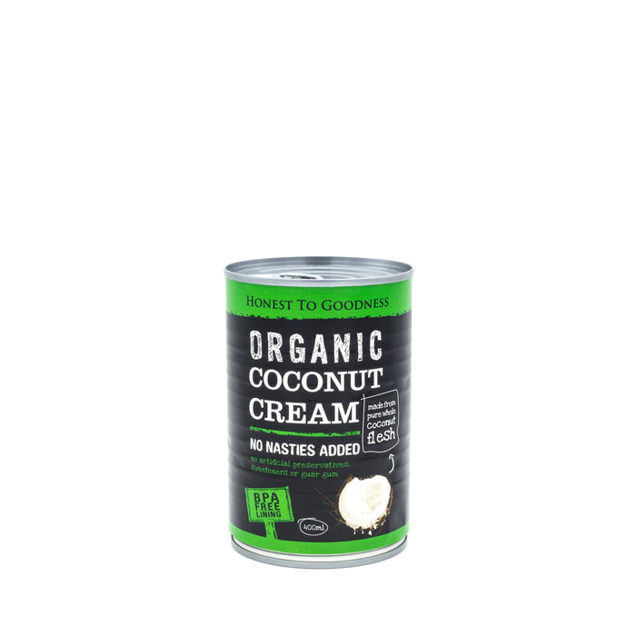 Honest to Goodness Organic Coconut Cream 400ml can Canned Products