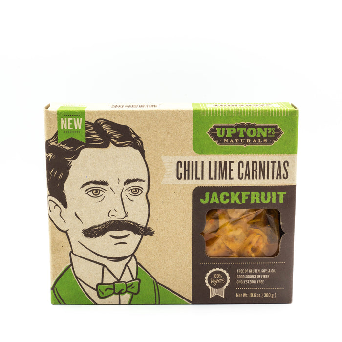 Upton's Naturals Chili Lime Carnitas Jackfruit 300g Make at Home Mixes