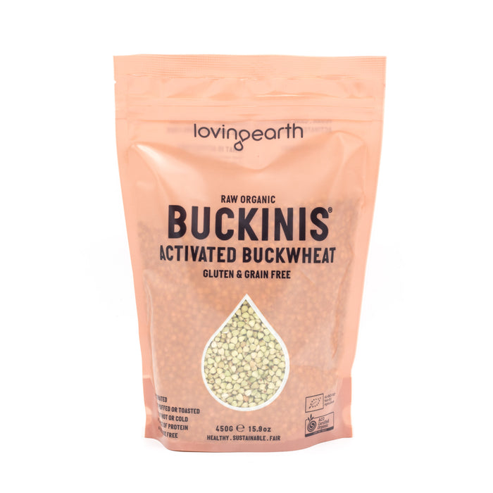 Loving Earth Activated Buckinis Organic 450g Cereals Muesli and Granola