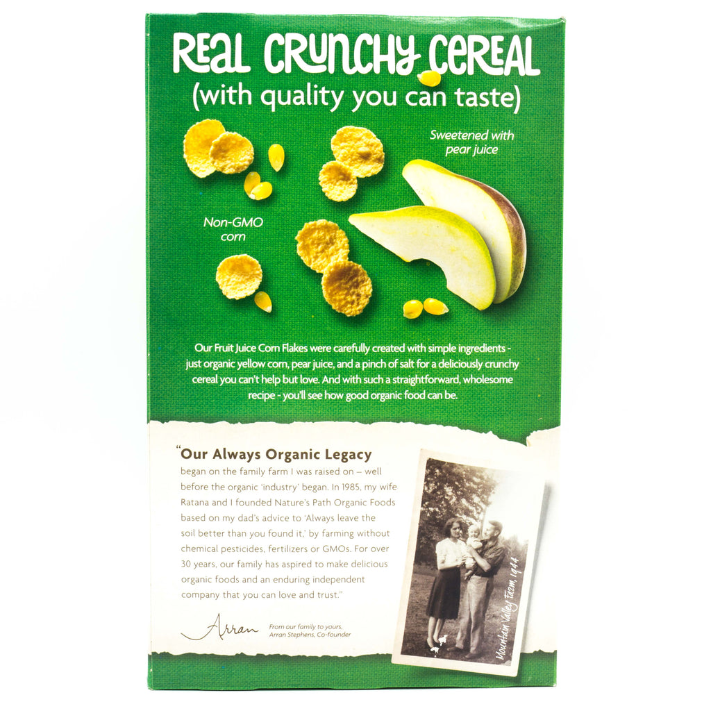 Natures Path Organic Corn Flakes 300g Cereals Muesli and Granola