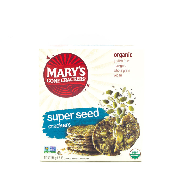 Mary's Gone Crackers - Super Seed Crackers & Crispbreads