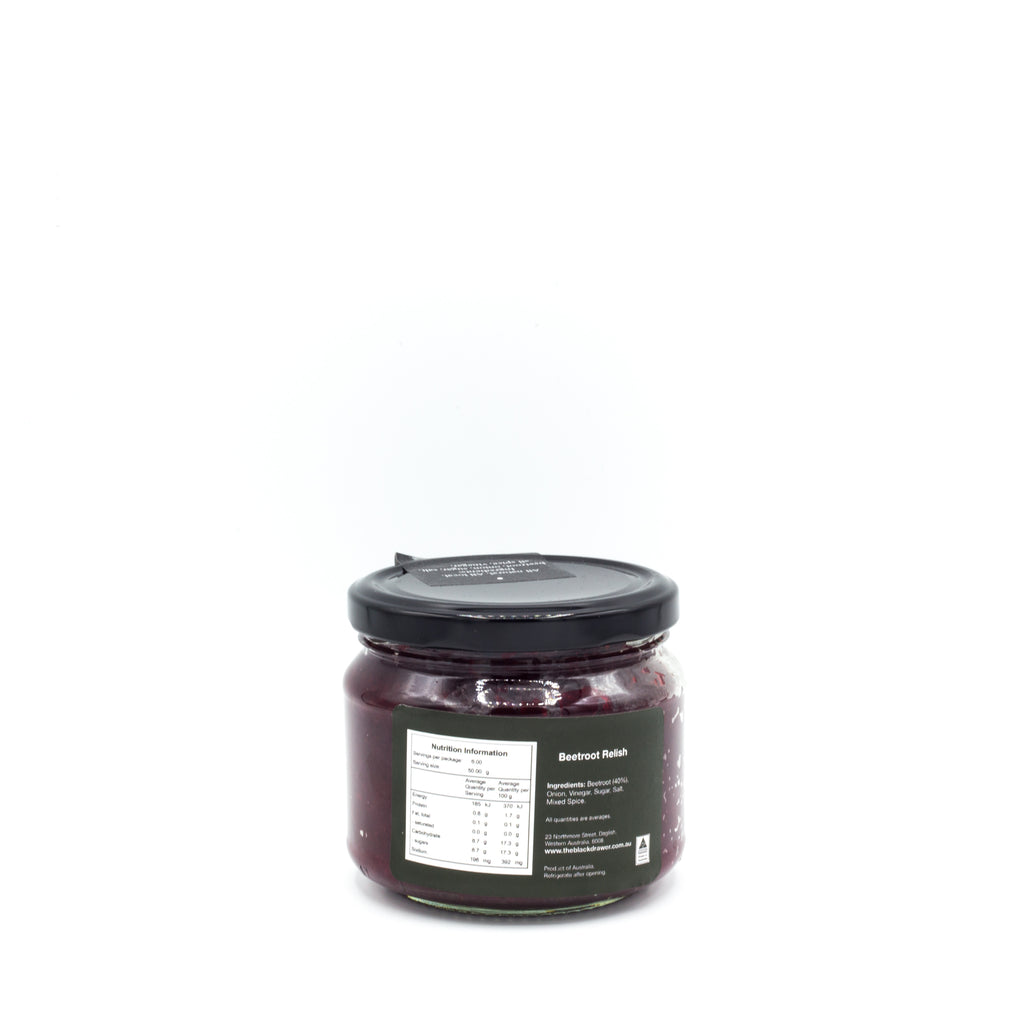 From the Black Drawer Beetroot Relish 300g Sauces & Condiments