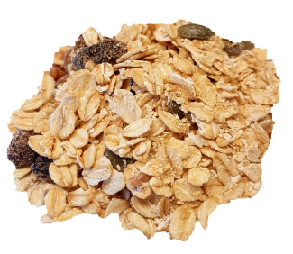 Muesli Apple and Cranberry Organic Cereals Muesli and Granola