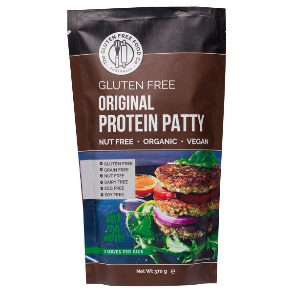 The Gluten Free Food Co Plant Based Protein Patty Original 370g Make at Home Mixes