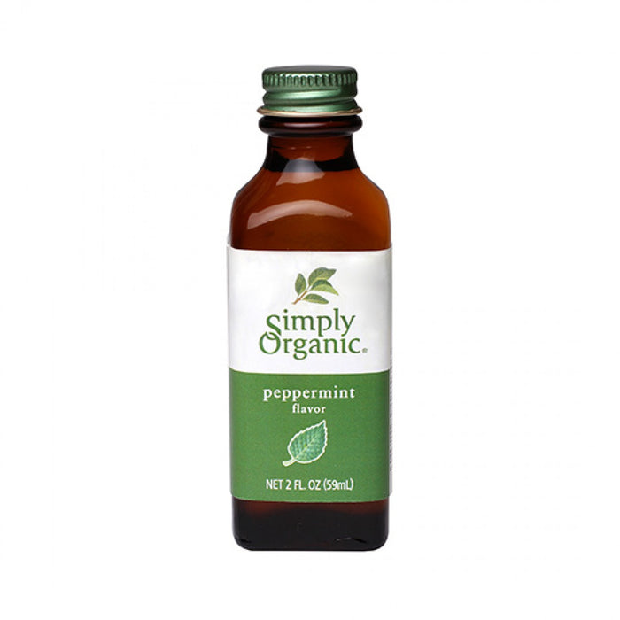 Simply Organic Peppermint Flavour 59ml Baking & Making