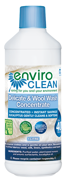 Envirocare Delicate & Wool Wash 1L Home & Cleaning
