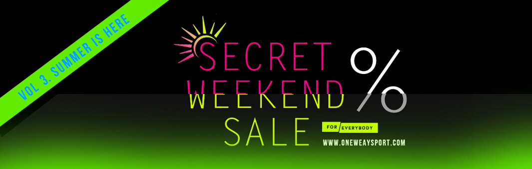 SECRET WEEKEND SALE
