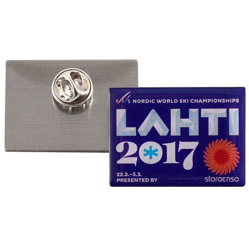LAHTI17 Purple Pin