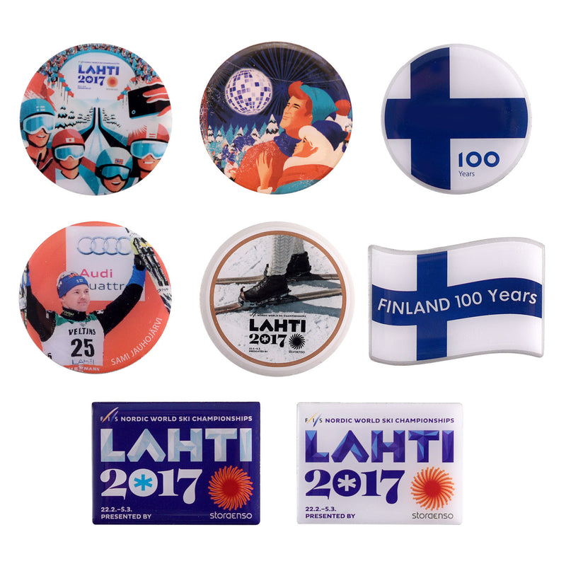 LAHTI17 Pin Collection