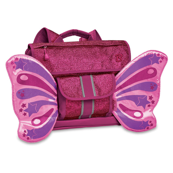 Bixbee Flyer Pack Sparkalicious Ruby Raspberry Butterfly Kids Small Backpack