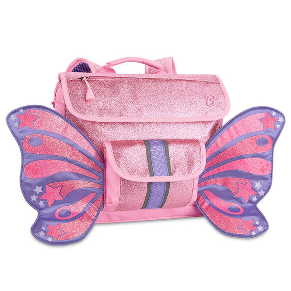 Bixbee Flyer Pack Sparkalicious Pink Butterfly Kids Small Backpack