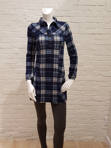 Plaid Sweater Dress