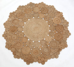 Bloom Weave Hemp Rug