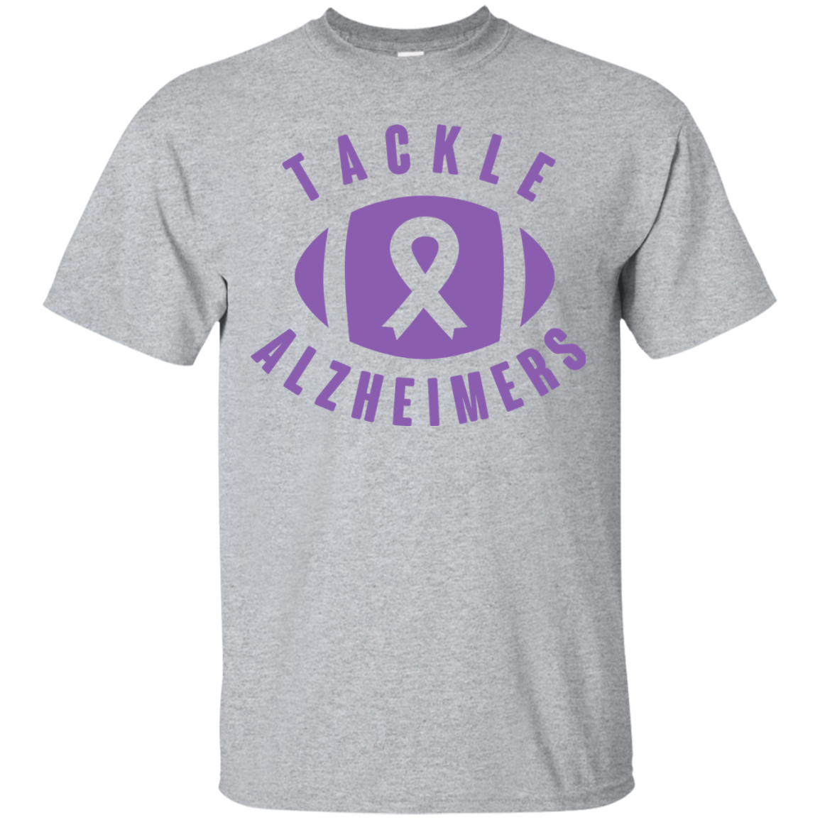 5cd1c0f51 Tackle Alzheimer's... Alzheimer's Awareness T-Shirt – Alzheimer's Store