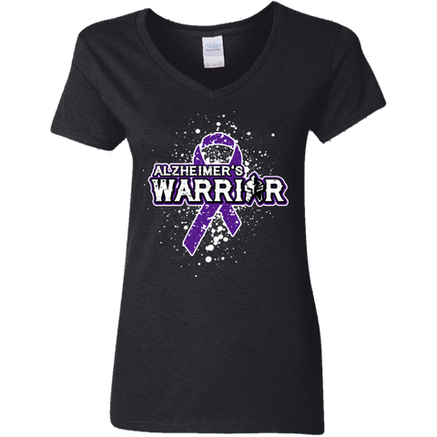 Alzheimer's Warrior! - V-Neck