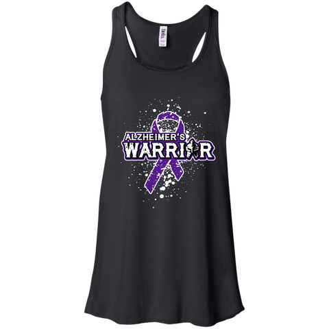 Alzheimer's Warrior! - Ladies Flowy Tank Top