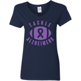 0c3375255 Tackle Alzheimer's... Alzheimer's Awareness V-Neck – Alzheimer's Store