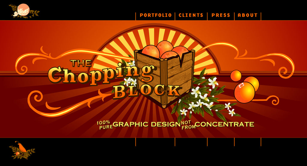 Chopping Block's Orange Site from 2000