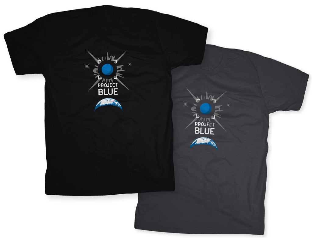 Project Blue Tees from Chop Shop