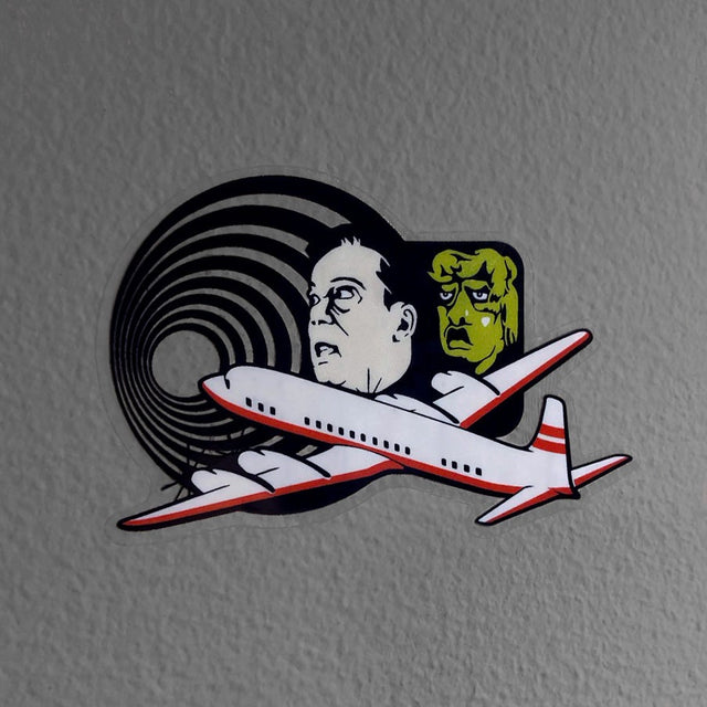 Nightmare at 10K Feet Sticker