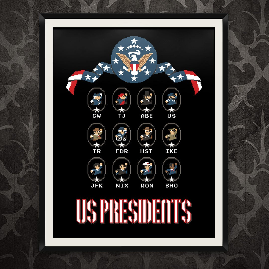 8-Bit US Historic Presidents