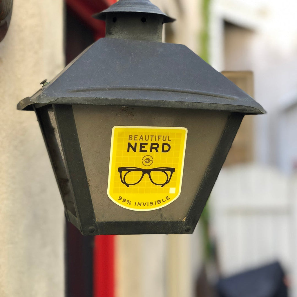 Beautiful Nerd Sticker for 99PI