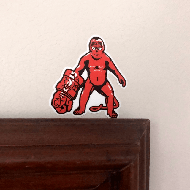 Hellbaby Sticker