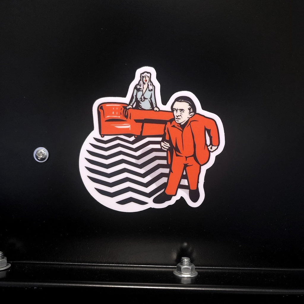 Twin Peaks Red Room Sticker