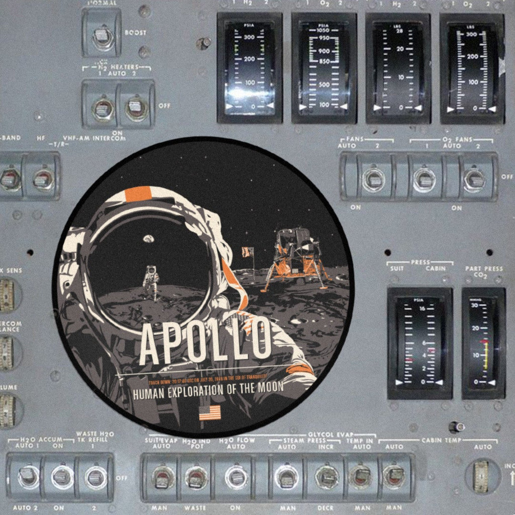 Apollo Sticker from The Giant Leaps in Space Series