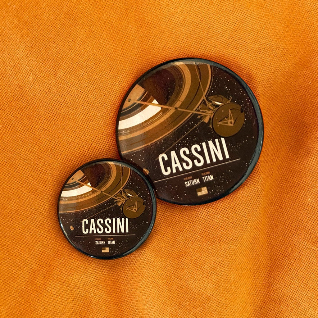 Cassini Mission Buttons