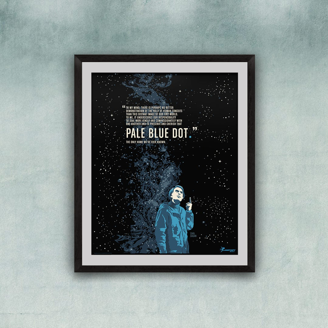 Carl Sagan Quote Print for The Planetary Society
