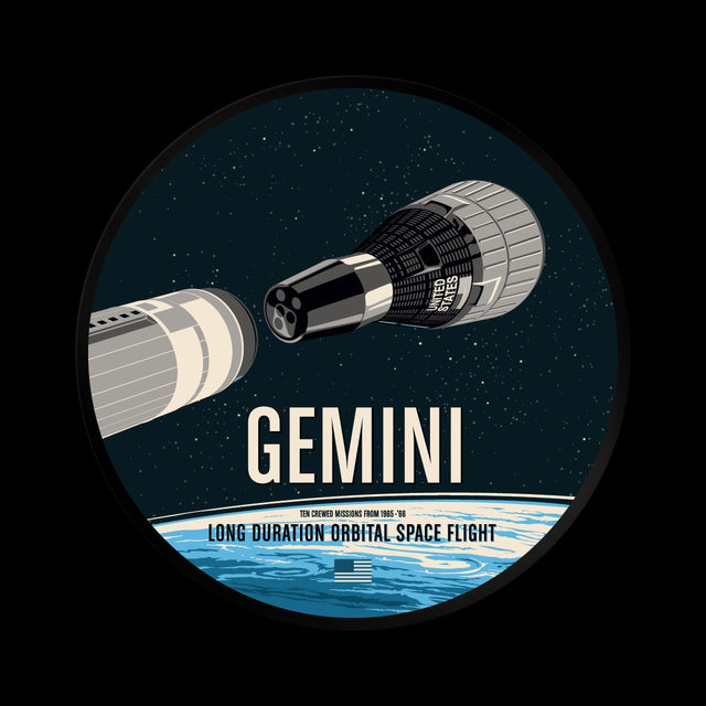 Gemini Sticker from The Giant Leaps in Space Series